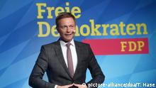 Christian Lindner, FDP (picture-alliance/dpa/T. Hase)