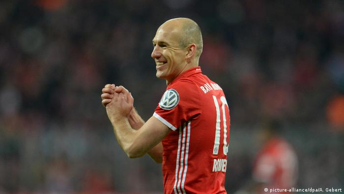 Bayern Munich's Arjen Robben (picture-alliance/dpa/A. Gebert)