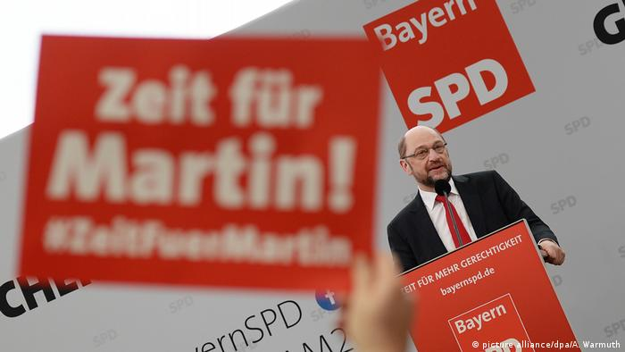 Deutschland Politischer Aschermittwoch der SPD in Vilshofen (picture alliance/dpa/A. Warmuth)