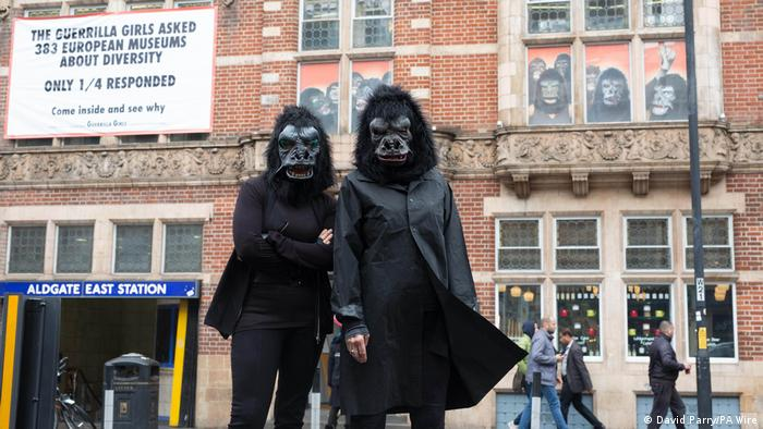 Ausstelung Guerrilla Girls: Is it even worse in Europe? 1 October 2016 – 5 March 2017 (David Parry/PA Wire)