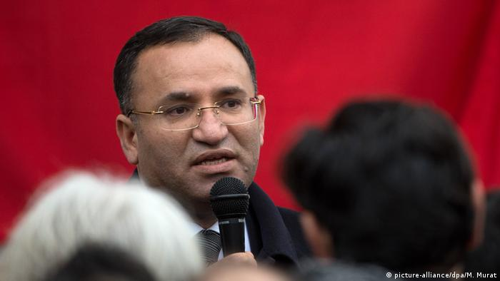 Türkei Bekir Bozdag Justizminister (picture-alliance/dpa/M. Murat)