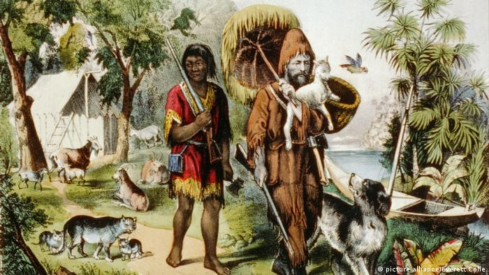 Illustration Robinson Crusoe