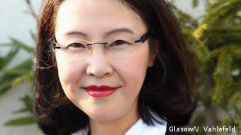 Deutschland DW Redakteurin Zhang Danhong (V. Glasow/V. Vahlefeld )