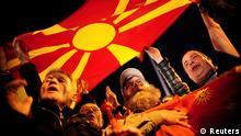 Mazedonien Proteste in Skopje