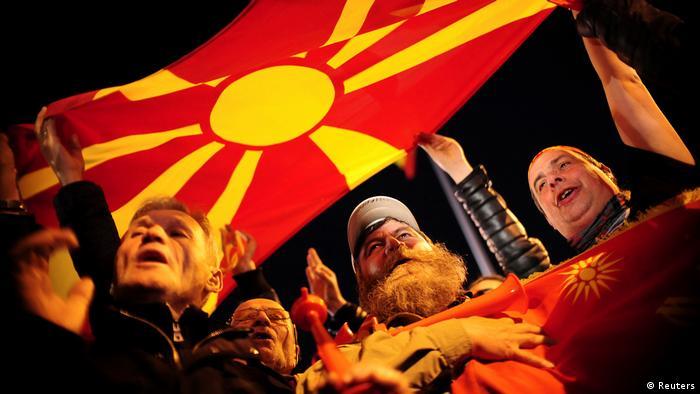 Mazedonien Proteste in Skopje (Reuters)