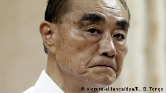 Feng Shih-kuan Verteidungsminister Taiwan (picture-alliance/dpa/R. B. Tongo)