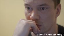 Russland Ildar Dadin nach der Freilassung aus dem Gefängnis