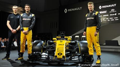 Formel 1 Team Renault (picture-alliance/dop/N. Ansell)