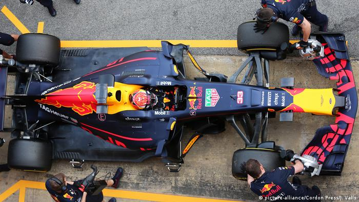 Formel 1 Team Red Bull (picture-alliance/Cordon Press/J. Valls)