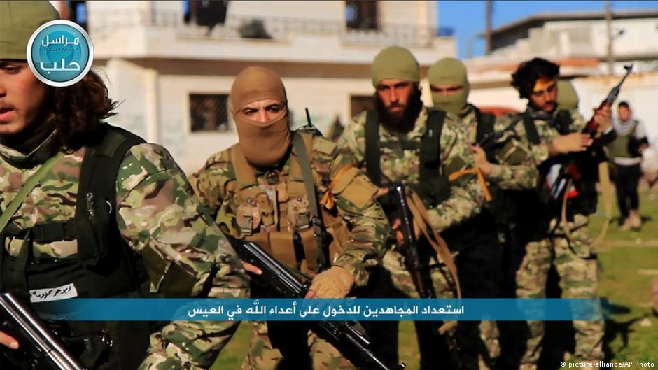 Syrien Al Nusra Kämpfer