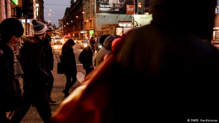 Latvia's non-citizens (DW/B. Gerdziunas)