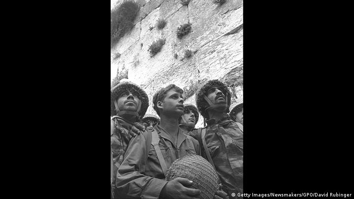 Photo by David Rubinger: Paratroopers at the Western Wall (Getty Images/Newsmakers/GPO/David Rubinger)