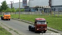 The picture shows the Kamsky Motor Works (KamAZ) on 25.05.2005 in Naberezhnye Chalny, Tatarstan, a joint stock company, one of the biggest of the branch. Foto: Nikolai Moshkov +++(c) dpa - Report+++