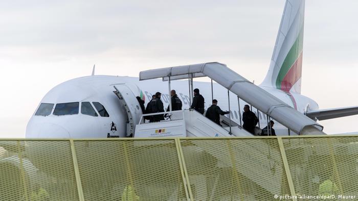 Deutschland Abschiebung von Asylsuchenden