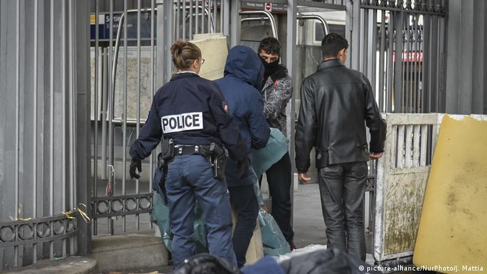 Frankreich Abschiebung von Asylsuchenden