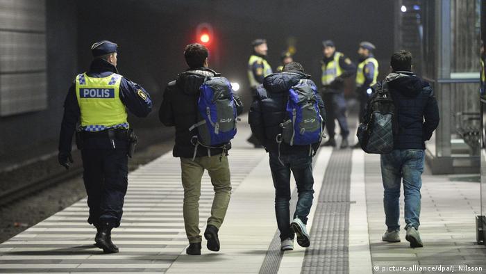 Schweden Abschiebung von Asylsuchenden (picture-alliance/dpa/J. Nilsson)