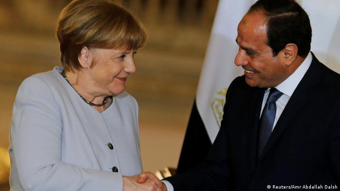 Ägypten Merkel und al-Sisi (Reuters/Amr Abdallah Dalsh)