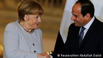 I Njemačkoj je u interesu imati dobre veze s Egiptom: Merkel i al-Sisi