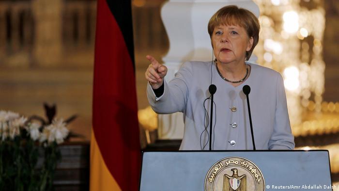 Ägypten Merkel und al-Sisi (Foto: Reuters/Amr Abdallah Dalsh)