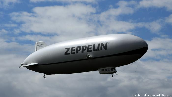 Zeppelin NT (picture-alliance/dpa/P. Seeger)