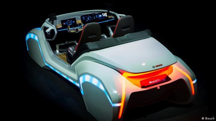 Bosch Konzeptfahrzeug für CES 2017 (Bosch)