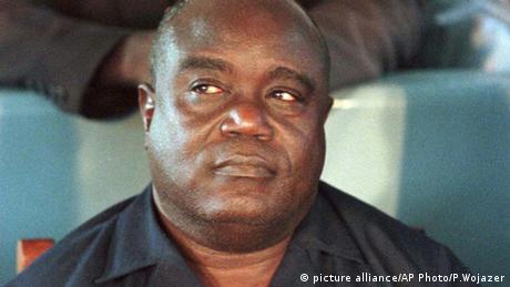 Zairian rebel leader Laurent-Desire Kabila
