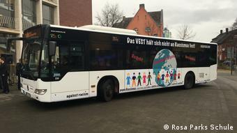The Anti-Racism Bus (c) Rosa Parks Schule