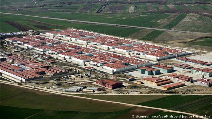 Silivri Gefängnis Türkei (picture-alliance/dpa/Ministry of Justice Prisons Dire)