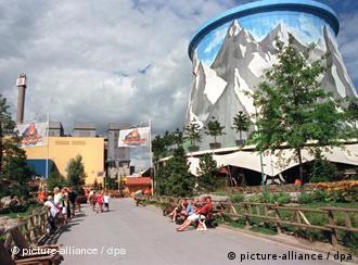 Freizeitpark Kalkar in Atomruine. Foto: dpa/lnw