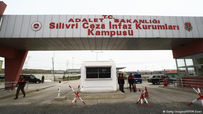 Türkei Silivri Gefängnis Gelände