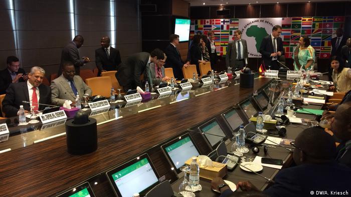 AfDB board members at their meeting in Abdjan