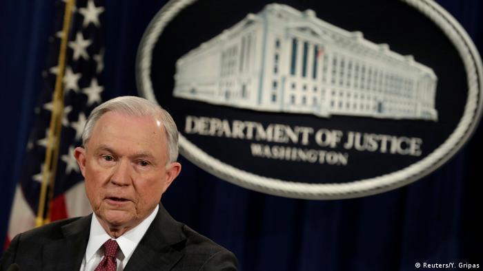 USA Justizminister Jeff Sessions   Erklärung zu Russland-Kontakten