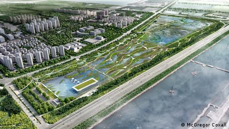 China Lingang Eco Park Bird Airport (McGregor Coxall)