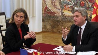 Ανησυχεί η Μογκερίνι για την κατάσταση στα Σκόπια