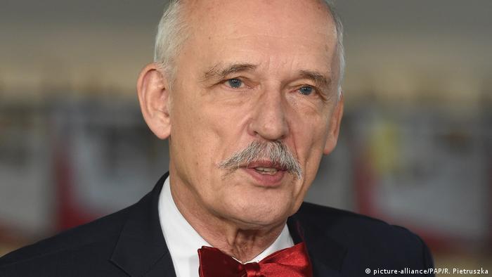 Janusz Korwin-Mikke (picture-alliance/PAP/R. Pietruszka)