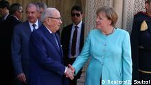 Tunesien Besuch Merkel bei Präsident Beji Caid Essebsi