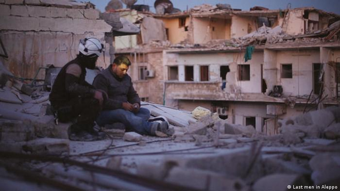 Filmstill Last men in Aleppo (Last men in Aleppo)
