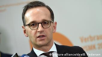 Deutschland Heiko Maas Justizminister (picture-alliance/dpa/B. Pedersen)