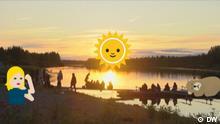 DW Sendung Euromaxx Emojis_Finnland.JPG (© DW ) Stichwort: Emojis