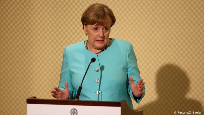 Tunesien Besuch Merkel PK mit Beji Caid Essebsi (Reuters/Z. Souissi)