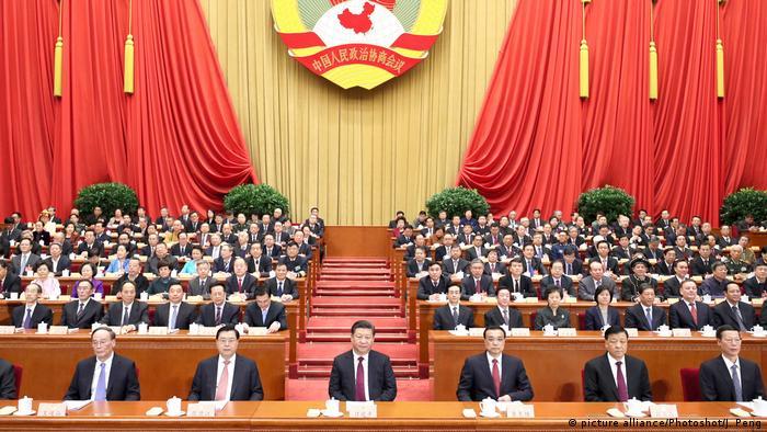 China CPPCC Chinesische Volkspolitische Beratungskonferenz (picture alliance/Photoshot/J. Peng)