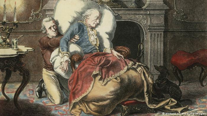 Вильгельм Кампхаузен, Смерть Фридриха Великого