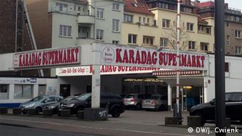 Τουρκικό σούπερ μάρκετ στην Κολωνία. Η Τουρκία εξάγει μεγάλες ποσότητες τροφίμων στη Γερμανία
