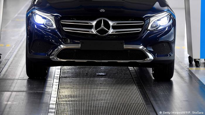 Mercedes-Benz GLC SUV (Getty Images/AFP/P. Stollarz)