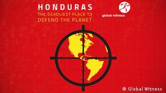 Campaña del informe de Global Witness sobre los activistas en Honduras.