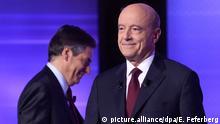 Frankreich Wahlkampf | Republikanische Partei - Francois Fillon & Allain Juppé