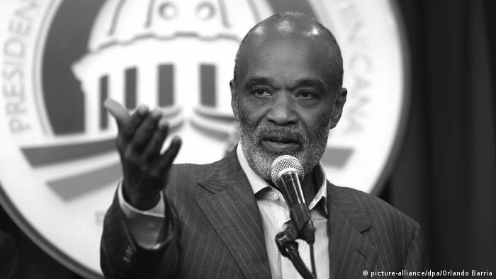 René Préval, Ex-Präsident von Haiti