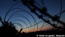 Nordkorea Südkorea demilitarisierte Zone | Grenzzaun