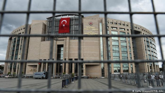 Türkei - Istanbul Justizpalast (Getty Images/AFP/B. Kilic)