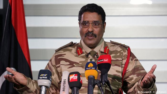 Libyen Ahmed Al Masmary Sprecher National Army LNA (Reuters/E. O. Al-Fetori)